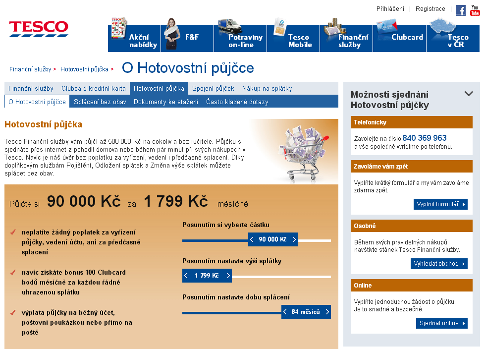hotovostní půjčky do 150 000 Kč